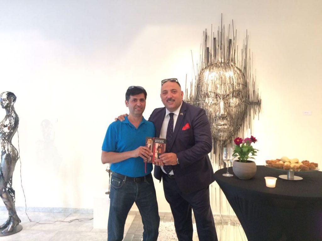 Очередная творческая победа Бахрама Багирзаде – ФОТОСЕССИЯ