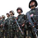 Войска Индии и Китая заняли оборону друг против друга