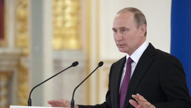 Путин: Россия будет наращивать военный потенциал