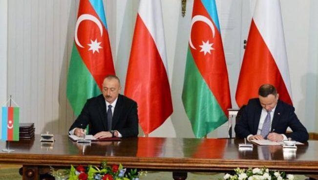 """Азербайджан и Польша подписали """"дорожную карту"""" стратегического партнерства"""