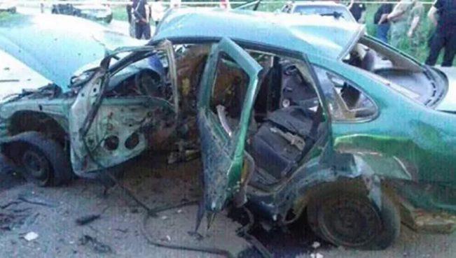 На Донбассе подорвался на мине автомобиль с полковником СБУ