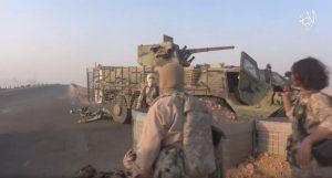 ИГИЛовцы захватили БТР украинского производства — ФОТО+ВИДЕО