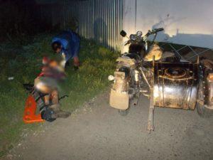 В Зеленодольском районе в ДТП с мотоциклом пострадали два человека