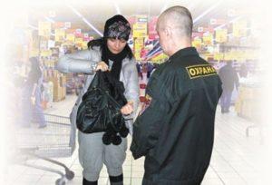 В Белгороде парочка обворовывала спортивные магазины