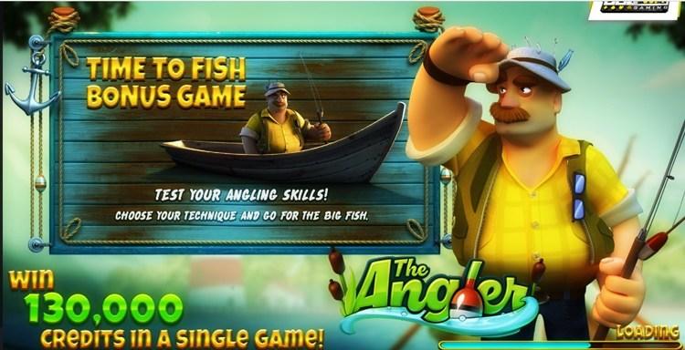 Игровой автомат «The Angler»