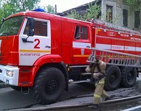 В Нижнем Новгороде вспыхнул Land Rover Freelander