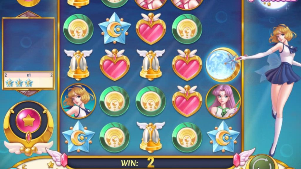 Игровой автомат «Moon Princess»в казино Вулкан