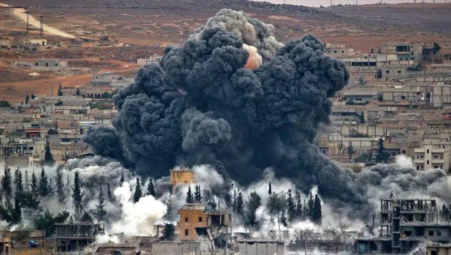 США нанесли авиаудары по Сирии: погибли60 человек
