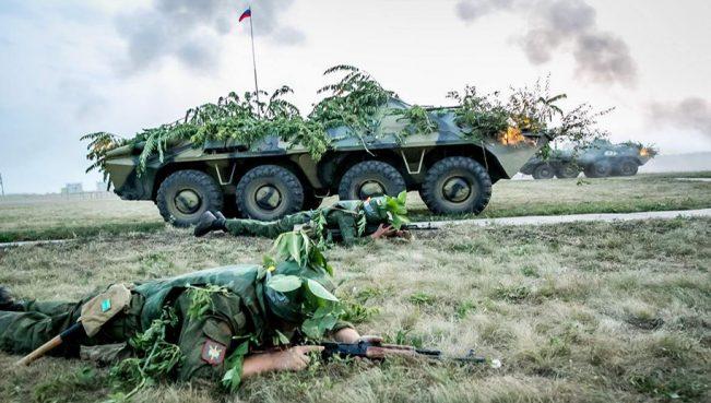 Кишинев возмущен военными учениями России в Приднестровье