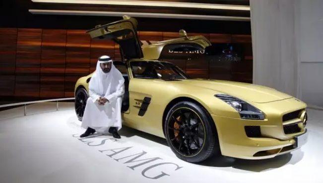 Эксклюзивные автомобили арабских шейхов