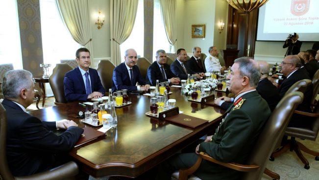 В Турции сменили командование вооруженных сил