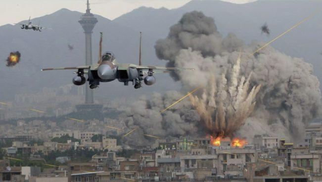 Коалиция во главе с США разбомбила ряд кварталов Ракки