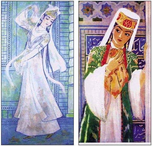 Выставка Народного художника Узбекистана и Татарстана – ФОТО