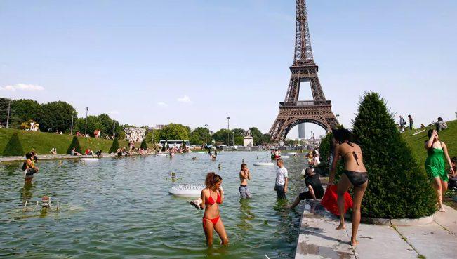 В Европе введен красный уровень опасности из-за жары