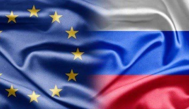 Россия отреагировала на санкции Евросоюза