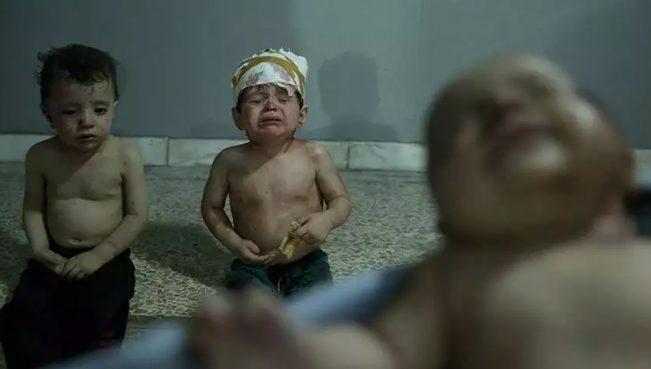 Асад продолжает бомбить мирное население