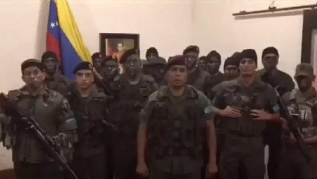 В Венесуэле мятежники захватили вленную базу и призвали к восстанию — ВИДЕО