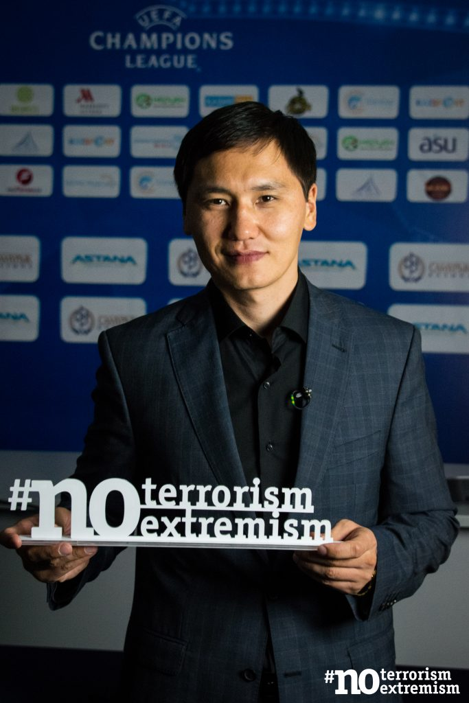 В Казахстане проходит акция #Noterrorism #Noextremism