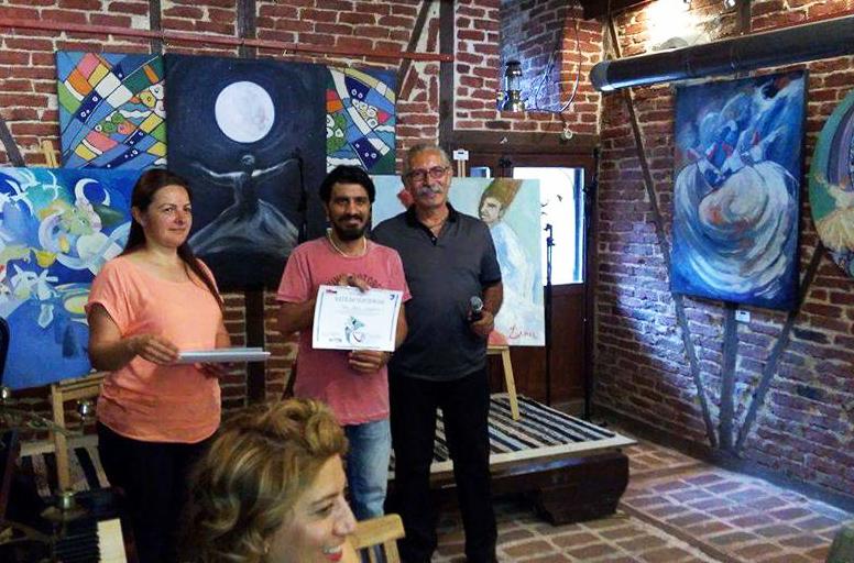 Азербайджанские художники приняли участие в Неделе искусства – ФОТО