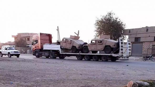 США направили террористам PYD еще 112 грузовиков с боеприпасами