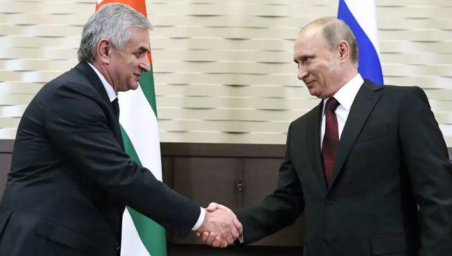 Путин прибыл в Абхазию