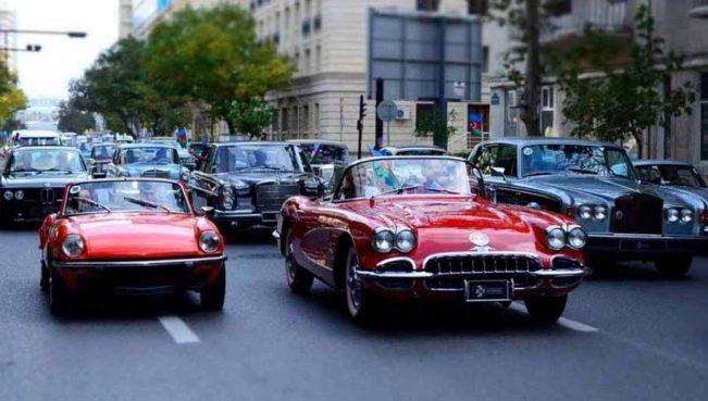 В Баку пройдет парад и выставка ретро-автомобилей – ФОТО