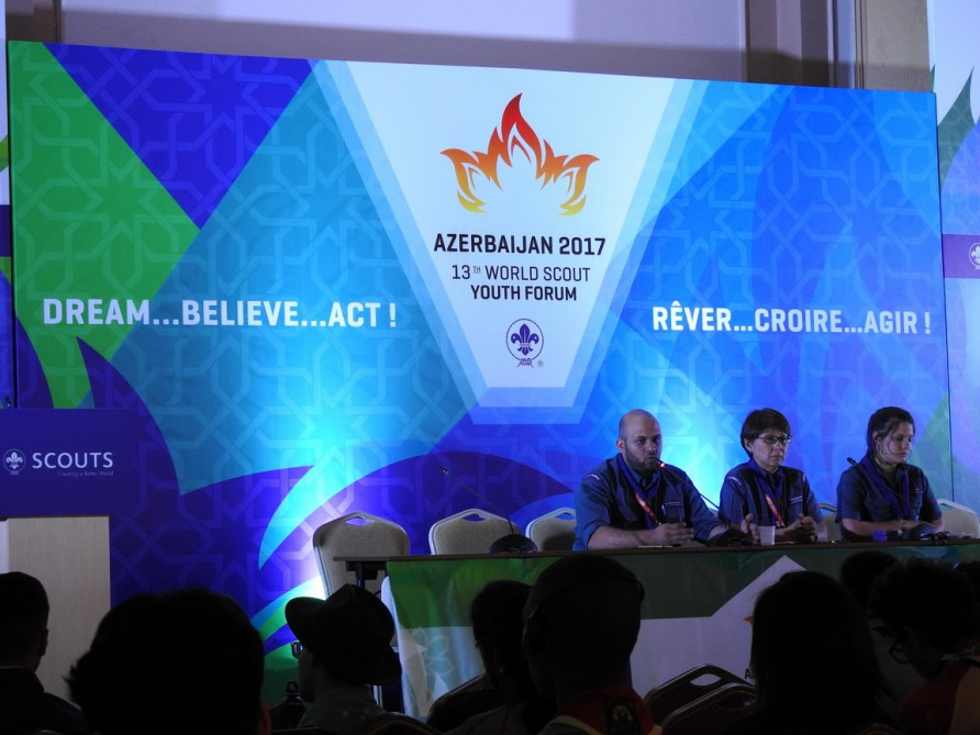 Скауты в Азербайджане – первое знакомство — ФОТО