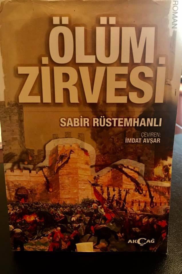 Роман Сабира Рустемханлы «Вершина смерти» переведен на турецкий язык