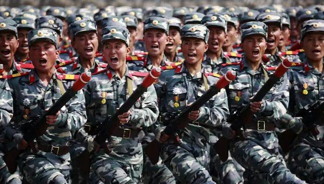 Более 3 млн граждан КНДР добровольно вступили в армию для войны с США