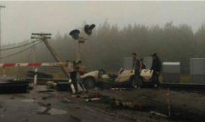 В Татарстане на железнодорожном переезде произошло ДТП