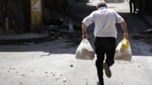 В Белгороде при попытке обчистить магазин задержан бездомный