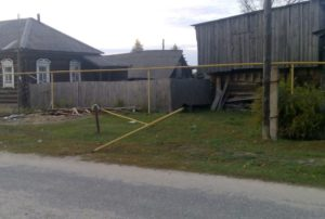 В Мордовии пьяный водитель без прав устроил погром в деревне (ФОТО)