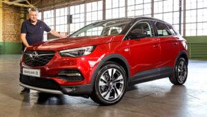 Opel доставил во Франкфурт новый кроссовер Grandland X