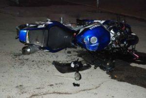 Мотоциклист из Саранска протаранил ВАЗ и оказался в больнице (ФОТО)