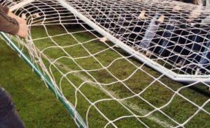 Футбольные ворота рухнули на 5-летнего ребенка в Саранске