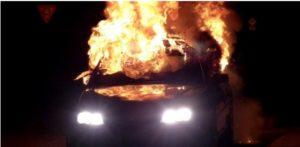 У и.о. главы Канавинского района Нижнего Новгорода сожгли Toyota Land Cruiser