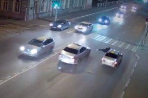 В Рязани сбили перебегавшего на «красный» пешехода