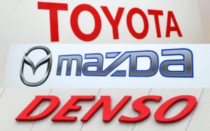 Toyota, Mazda и Denso объединились для создания электромобилей