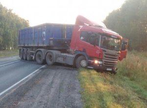 В ДТП с грузовиком на трассе «Рязань — Пронск» пострадали двое людей