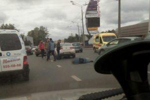 В Казани во время ДТП серьёзно пострадал велосипедист