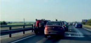 Под Рязанью столкнулись два внедорожника и Renault