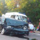 Под Брянском в тройной аварии пострадали двое людей