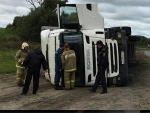 Пьяный водитель фуры устроил ДТП в Козловском районе