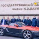 Состоялась презентация российского кабриолета «Крым»