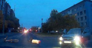 Нетрезвый водитель сбил женщину на улице Николаева в Чебоксарах