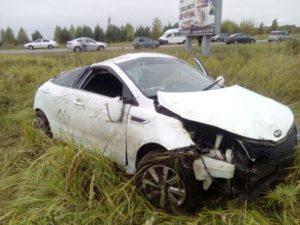 В Елабужском районе в результате ДТП погиб человек