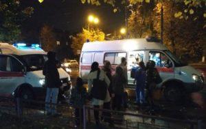 Двух девушек сбило такси на проспекте Кирова в Нижнем Новгороде