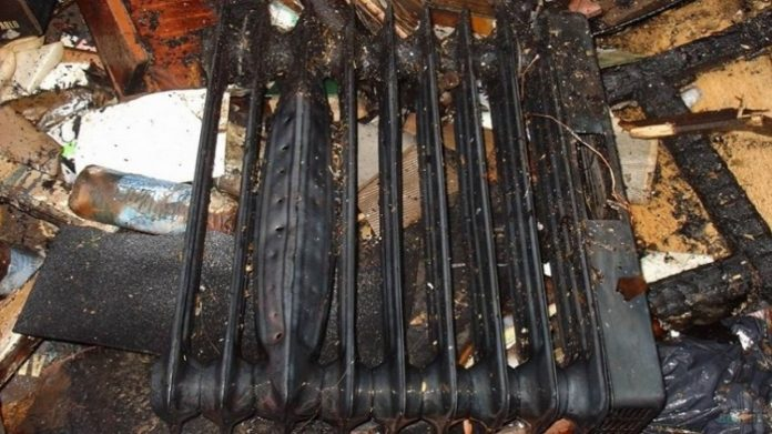 В Иваново в ночном пожаре погиб человек