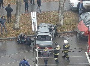 В аварии на улице Фирсова в Рязани пострадал маленький ребенок