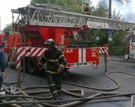 В Нижнем Новгороде 17 человек эвакуировали из-за горящей электропроводки